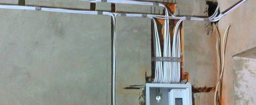 Сколько стоит провести проводку в однокомнатной квартире