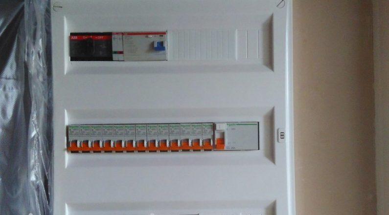 Установка и подключение электрощита