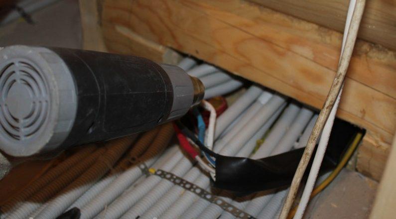 Изолирование кабеля в доме