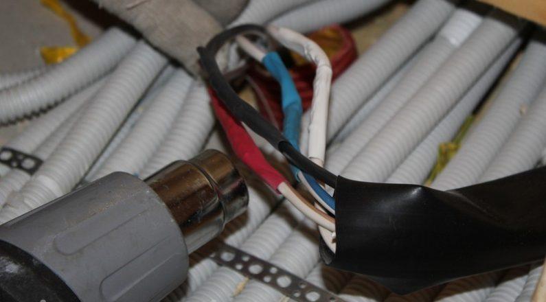 Изолирование кабеля