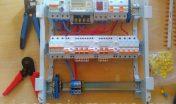 Сборка электрощита в домах