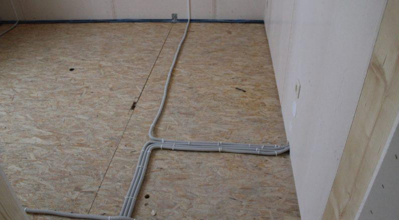 Распределение проводки в квартире